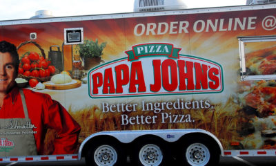 Pizza papa John´s American Airlines