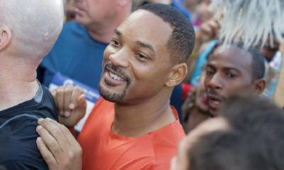 Will Smith corre en el Marabana 2018