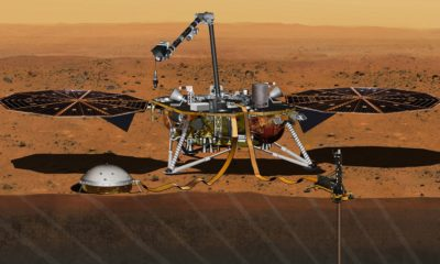 Insight Landing on Marte