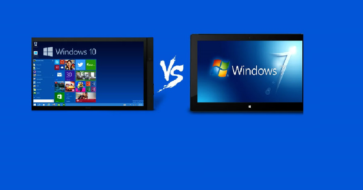 Windows 10 vs Windows7