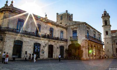 Plaza de la Catedral en La Habana