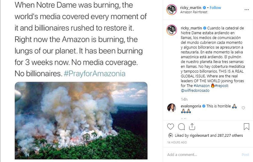 Amazonas Burning
