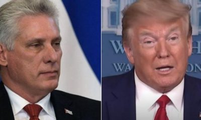 Diaz Canel vs Donald Trump