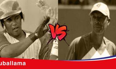 peloteros cubanos Daniel Lazo y Reemberto Rosell