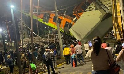 accidente en Metro de México
