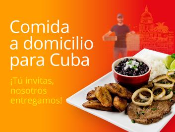 Comida a domicilio en La Habana